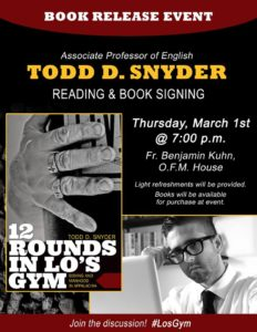 """12 Rounds in Lo's Gym"" Book Release Event"